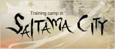 Training camp in SAITAMA CITY